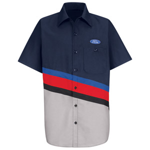 Ford Technician Short Sleeve Shirt - Click for Large View