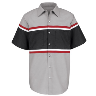 Red Kap Technician Short Sleeve Shirt - Click for Large View