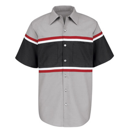 Red Kap Technician Short Sleeve Shirt
