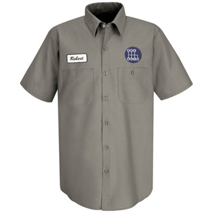 Decatur High School Short Sleeve Work Shirt - Click for Large View