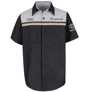 Lawson State Community College Lexus T-TEN Program Short Sleeve Technician Shirt - Click for Large View