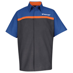 Ford Quick Lane Short Sleeve Technician Shirt - Click for Large View