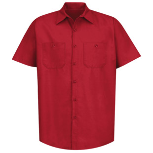 Classic Solid Auto Work Shirt - Click for Large View