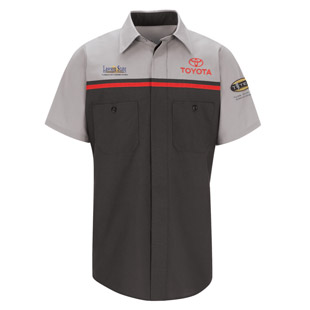 Lawson State Community College Toyota T-TEN Program Short Sleeve Technician Shirt - Click for Large View