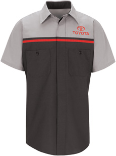 Toyota Short Sleeve Technician Shirt - Click for Large View