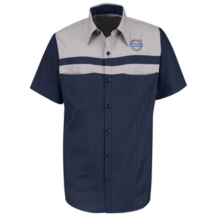 Volvo Technician Short Sleeve Shirt - Click for Large View