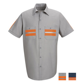 Red Kap Enhanced Visibility Short Sleeve Shirt