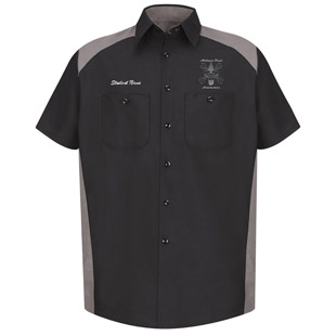 Addison Trail High School Short Sleeve Motorsports Shirt - Click for Large View