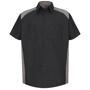 Red Kap Motorsports Short Sleeve Shirt - Click for Large View