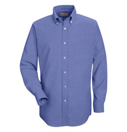 Red Kap Men's Executive Oxford Long Sleeve Shirt