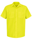 Enhanced Visibility Yellow Green Short Sleeve Shirt