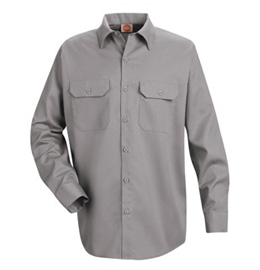 Red Kap Men's Utility Long Sleeve Work Shirt