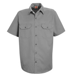 Red Kap Men's Utility Short Sleeve Work Shirt