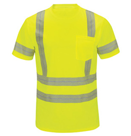 Red Kap Performance Hi-Visibility Short Sleeve Tee - Type R, Class 3
