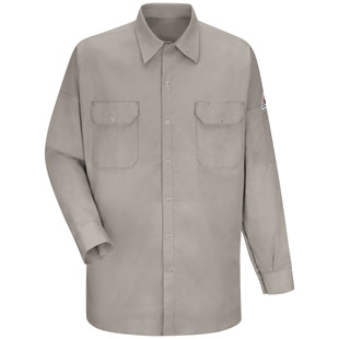 Bulwark Flame Resistant Welding Shirt - Click for Large View