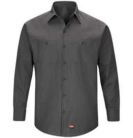 Red Kap Men's MIMIX Long Sleeve Work Shirt