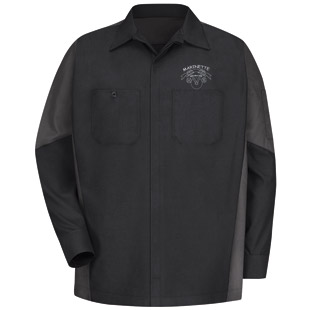 Marinette High School Auto Long Sleeve Shirt - Click for Large View