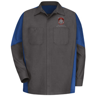 Chavez High School Motor Sports LS Crew Shirt - Click for Large View