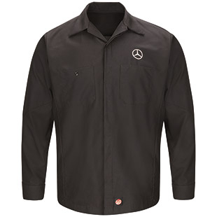 Mercedes Long Sleeve Crew Shirt - Click for Large View