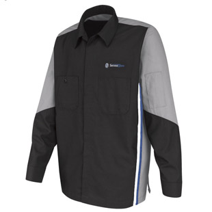 Volkswagen Service Xpress Technician Long Sleeve Shirt - Click for Large View