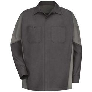 Audi Technician Long Sleeve Shirt - Click for Large View