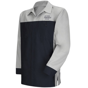 Hyundai Technician Long Sleeve Shirt - Click for Large View