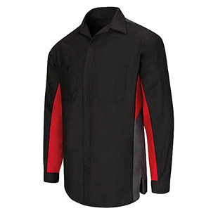 KIA Technician Long Sleeve Shirt - Click for Large View