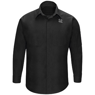 Mazda Long Sleeve Technician Shirt - Click for Large View