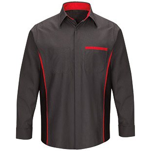 Nissan Long Sleeve Technician Shirt - Click for Large View