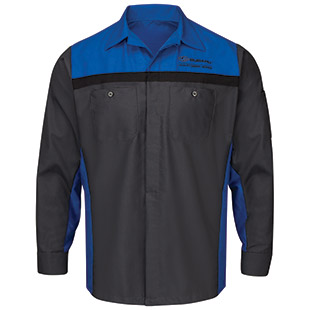 Subaru Long Sleeve Technician Shirt - Click for Large View