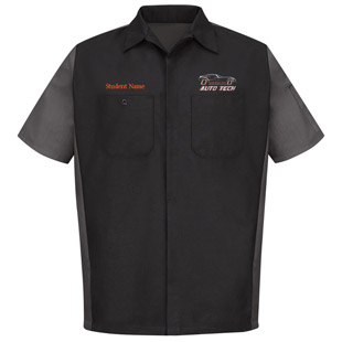 Osseo Senior High School Auto Tech Short Sleeve Crew Shirt - Click for Large View