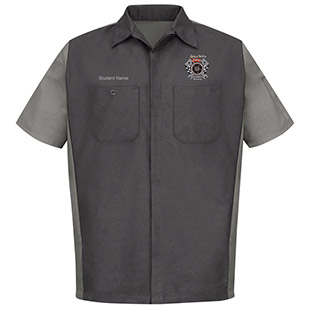 Skagit Valley College Short Sleeve Crew Shirt - Click for Large View