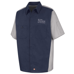 Hyundai Assurance Car Care Express Tech Short Sleeve Shirt - Click for Large View