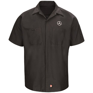 Mercedes Short Sleeve Crew Shirt - Click for Large View