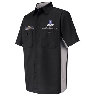 Lawson State Community College GM ASEP Program Short Sleeve Technician Shirt - Click for Large View
