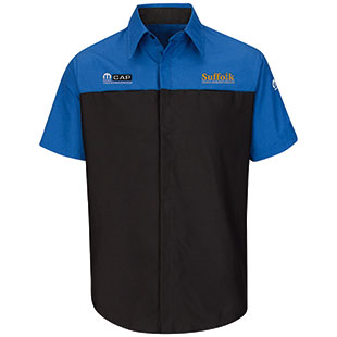 Suffolk County Community College Mopar Short Sleeve Technician Shirt - Click for Large View