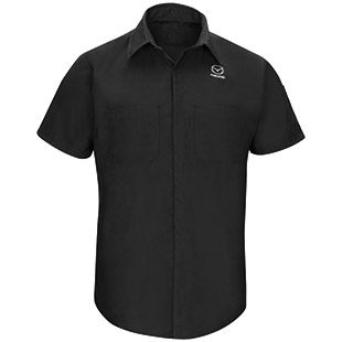 Mazda Short Sleeve Technician Shirt - Click for Large View
