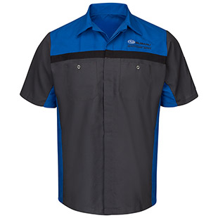 Subaru Short Sleeve Technician Shirt - Click for Large View