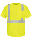 Red Kap High Visibility Short Sleeve T-Shirt  - Class 2 Level 2