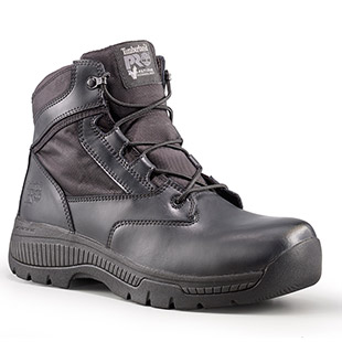 Timberland PRO Valor Duty 6 Inch Side-Zip Soft Toe Boots - Click for Large View