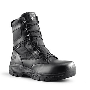 Timberland PRO Valor Duty 8 Inch Side-Zip Soft Toe Boots - Click for Large View