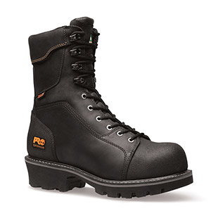 Timberland PRO Rip Saw 9 Inch Comp Toe Logger Boots - Click for Large View