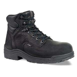 Timberland PRO 6 Inch TiTAN Black Safety Toe Work Boots - Click for Large View