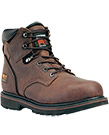 Timberland PRO Pit Boss 6 Inch Steel Toe Brown Work Boot