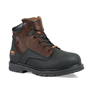 Timberland PRO PowerWelt 6 Inch Steel Safety Toe Waterproof Work Boot - Click for Large View
