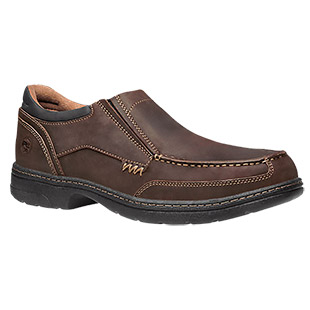 Timberland PRO Branston Alloy Safety Toe Slip-On Oxford ESD Work Shoe - Click for Large View