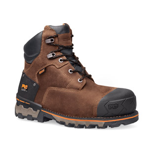 Timberland PRO 6 Inch Boondock Composite Safety Toe Waterproof Work Boot - Click for Large View