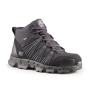 Timberland Pro Powertrain Mid Alloy Safety Toe ESD Shoe - Click for Large View
