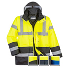 Portwest Hi-Vis Contrast Traffic Jacket - Type R, Class 3