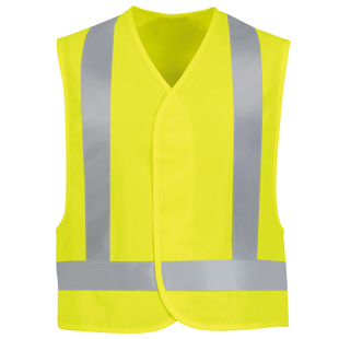 Red Kap Hi  Visibility Safety Vest - Type R, Class 2 - Click for Large View
